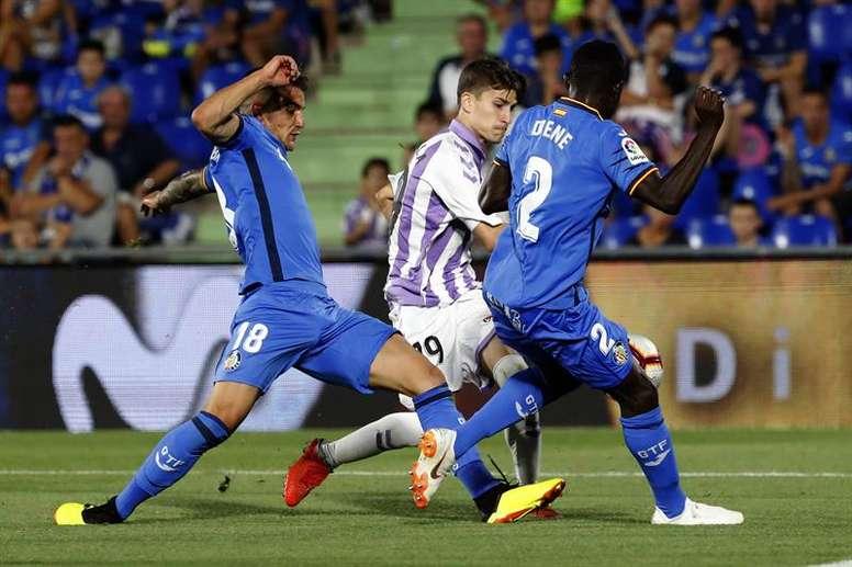 Getafe y Valladolid igualaron sin goles. EFE