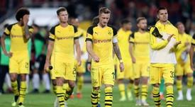 El Borussia quiere volver a la senda de los tres goles. EFE