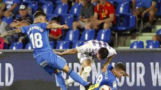 Arambarri habló sobre el partido del Valencia. EFE