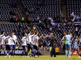 Puebla ha logrado levantar un 2-0 para sacar un empate ante Pumas. EFE/Archivo