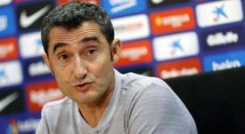 Valverde se centra en lo deportivo. EFE