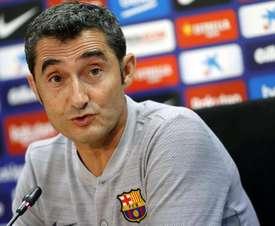 Valverde relativise. EFE