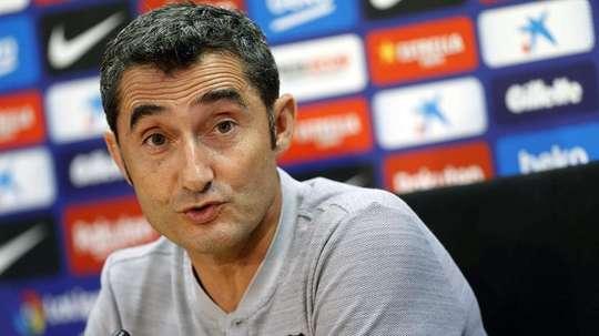 Valverde no se fía del Madrid. EFE