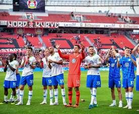 El Wolfsburgo recuerda al de anteriores temporadas. EFE