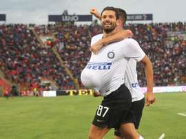Candreva pourrait quitter l'Inter. EFE