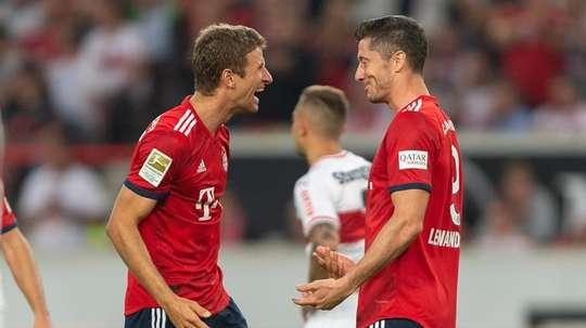 El Bayern sigue a lo suyo en Alemania. EFE