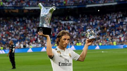 Luka Modric joined Real Madrid in 2012. GOAL