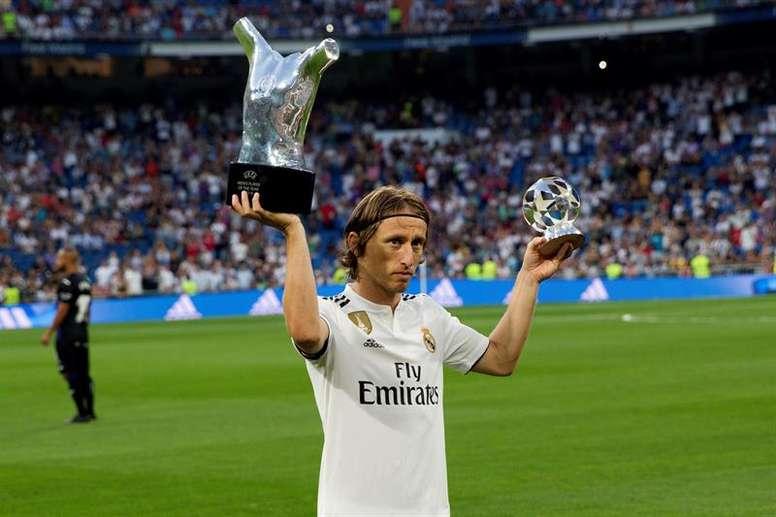 Luka Modric, en el mejor momento de su carrera. EFE