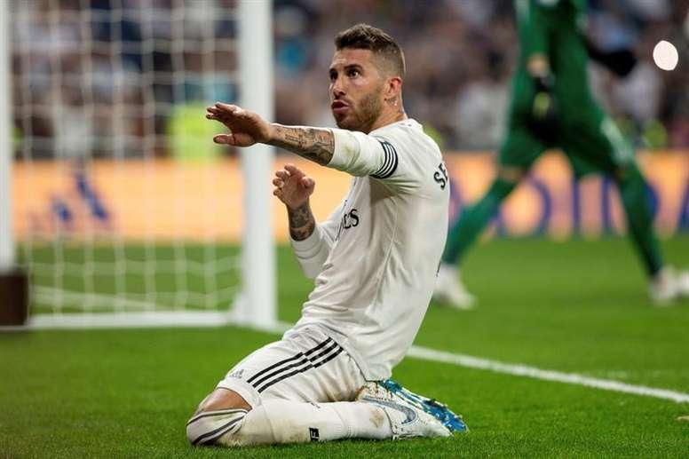 Sergio Ramos quiere seguir triunfando como capitán. EFE