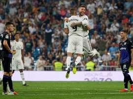 Les compos probables Real Madrid-Leganés de coupe du Roi. EFE