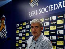 Des émissaires de la Real Sociedad étaient présents. EFE