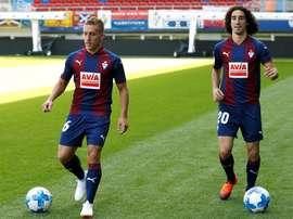 Pablo De Blasis ya marca con el Eibar. EFE