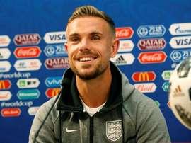 Jordan Henderson quedará vinculado al Liverpool casi de por vida. EFE/Archivo