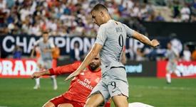 Madrid y Roma se verán las caras en el Bernabéu. EFE/Arcvhivo