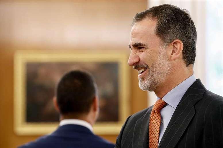 Felipe VI ha dicho sí a la propuesta de la LNFS. EFE