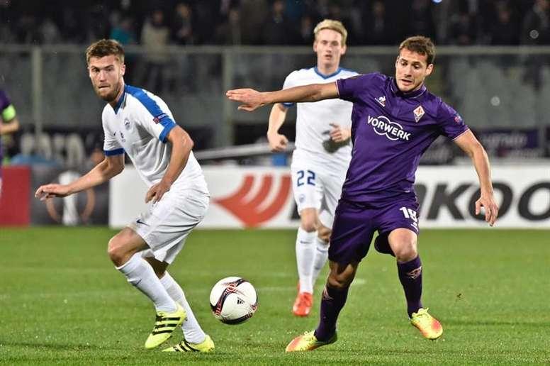 Cristóforo, en su etapa en la Fiorentina. EFE/Archivo