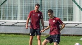 Oihan Sancet cuenta para Garitano. EFE