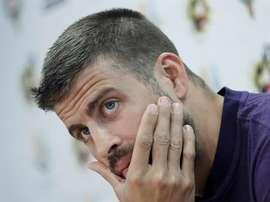 Gerard Piqué falou sobre ser presidente do Barça. EFE
