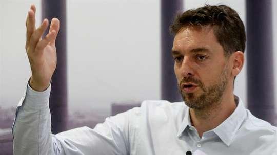 Bartomeu quiere que el pívot expanda la 'marca Barça' en Norteamérica. EFE