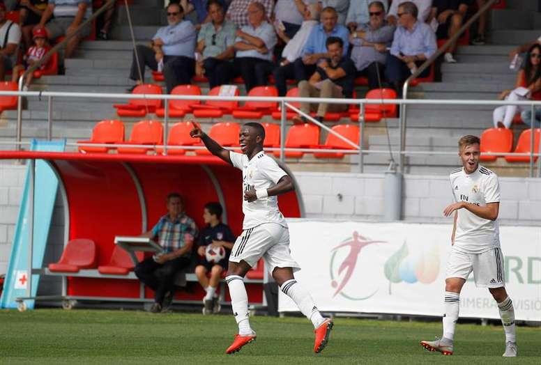 Vinicius Jr segunda divisão B. EFE