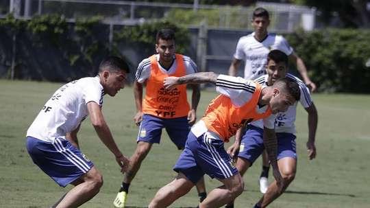 Nueva prueba para la Selección Argentina. EFE