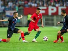 Portugal y Croacia empataron a uno. EFE