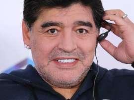 Maradona fichó por Dorados de Sinaloa. EFE/Archivo