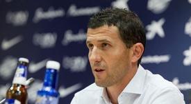 Javi Gracia é o nome mais cotado para treinar o Valencia. EFE/Arquivo