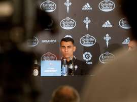 Júnior Alonso es consciente de que hay mucho que mejorar. EFE