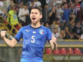 Mancini logra un empate en su debut con Italia. EFE