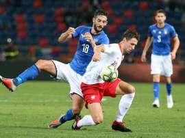 Italia se juega mucho ante Polonia. EFE