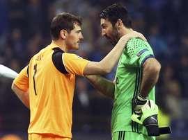 Casillas prefiere no marcarse una fecha de retirada. EFE/Archivo