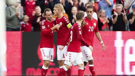 Dinamarca jugará la Liga A la próxima temporada. EFE