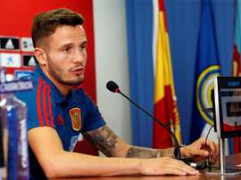 Saul Ñiguez says he never wants to leave Atletico. EFE