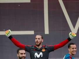 De Gea will be in the World XI according to 'Marca'. EFE