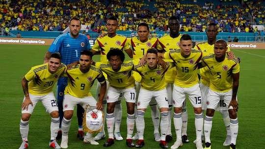 Colombia jugará ante Argentina sin saber quién será su futuro técnico. EFE