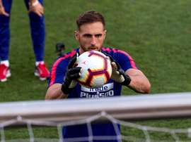 Oblak has become a star player since his arrival. EFE