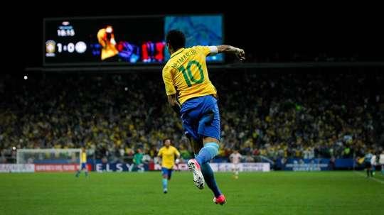 Neymar seguirá en el once inicial. EFE/Archivo