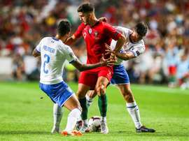 L'Italie reçoit le Portugal. EFE