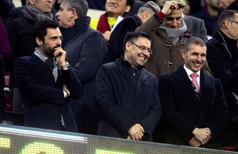 El Girona-Barcelona sigue dando pasos para jugarse en Miami. EFE