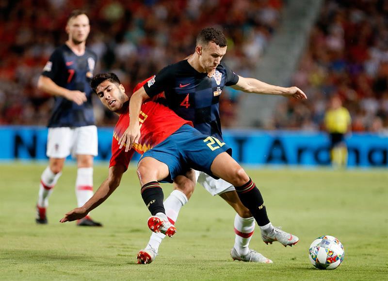 Ligue des Nations: l'Espagne s'incline en Croatie et risque de tout perdre