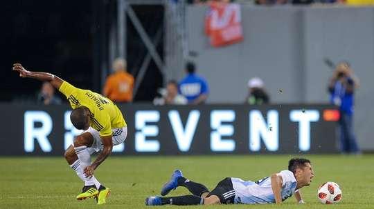 Incautaron 11 maletas de la Selección Argentina y la AFA dio una explicación. EFE