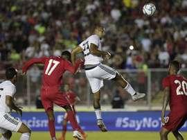 Rondón le dio la victoria a Venezuela. EFE
