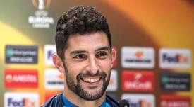 Álvaro ya piensa en la Liga. EFE