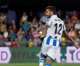 Willian José souhaite rester à la Real Sociedad. EFE