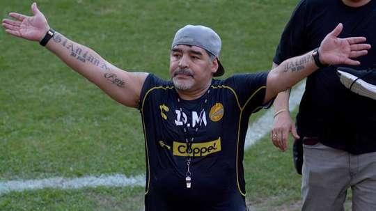 Diego Armando Maradona ha sido recibido con los brazos abiertos. EFE/Archivo