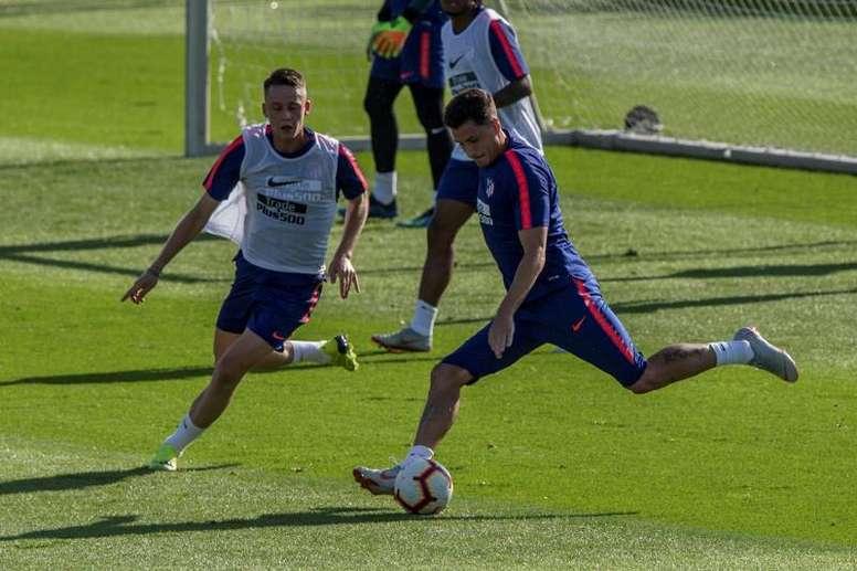 Borja Garcés y Solano se cuelan en los planes del Cholo. EFE