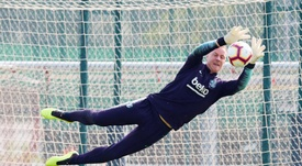 Avec Ter Stegen, le Barça souffre moins. EFE