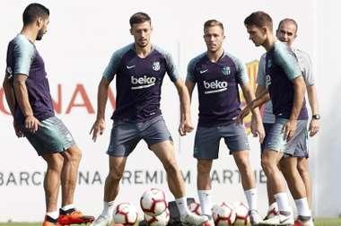 Le Barça a un plan B. EFE