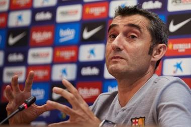 Para Valverde, Messi sigue siendo 'The Best'. EFE